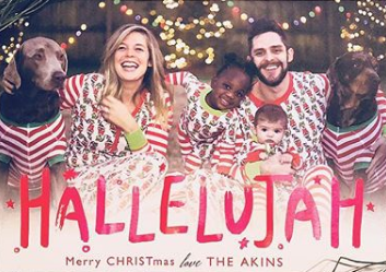 Thomas Rhett's Family Christmas Card is Too Cute for Words