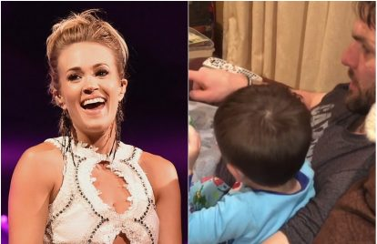 Carrie Underwood Melts Hearts