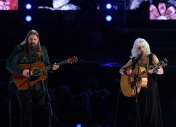 Chris Stapleton, Emmylou Harris Honor Tom Petty With In Memoriam at GRAMMYs