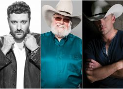 Chris Young, Justin Moore & Others Join Charlie Daniels' Volunteer Jam XX