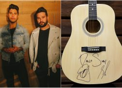 WIN a Guitar Autographed by Dan + Shay