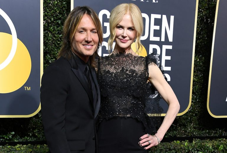 Nicole Kidman Gives Sweet Shout-Out to Keith Urban During Golden Globes Speech