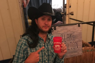 Luke Bryan Impersonates Blake Shelton in Hilarious Vintage Costume