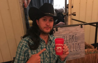 Luke Bryan Impersonates Blake Shelton
