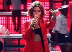 Maren Morris Stuns in 'The Middle' Target Commercial with Zedd