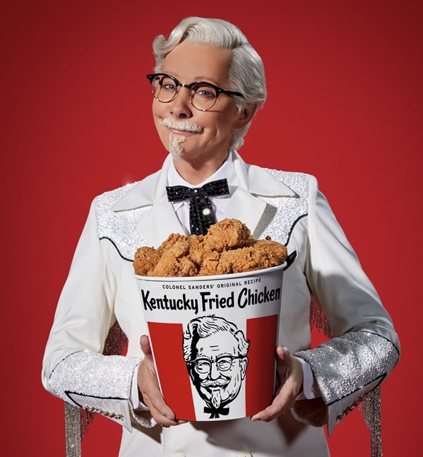 Reba McEntire, KFC's First Female Colonel Sanders