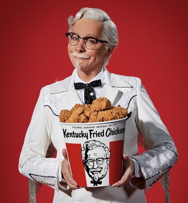 Reba Looks 'Finger-Lickin' Good' As KFC's New Colonel Sanders