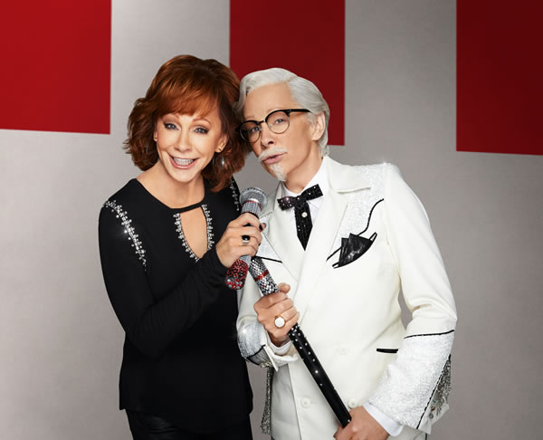 Reba McEntire Is KFC's New Colonel Sanders & Everyone Made The Same Joke