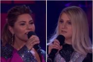 Shania Twain and Meghan Trainor Exchange Disses on 'Drop the Mic'
