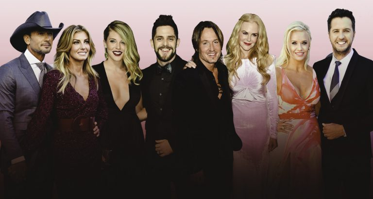 Country Stars Celebrate Love on Valentine's Day