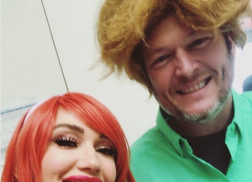 Blake Shelton and Gwen Stefani Dress Up As 'Scooby Doo' Characters
