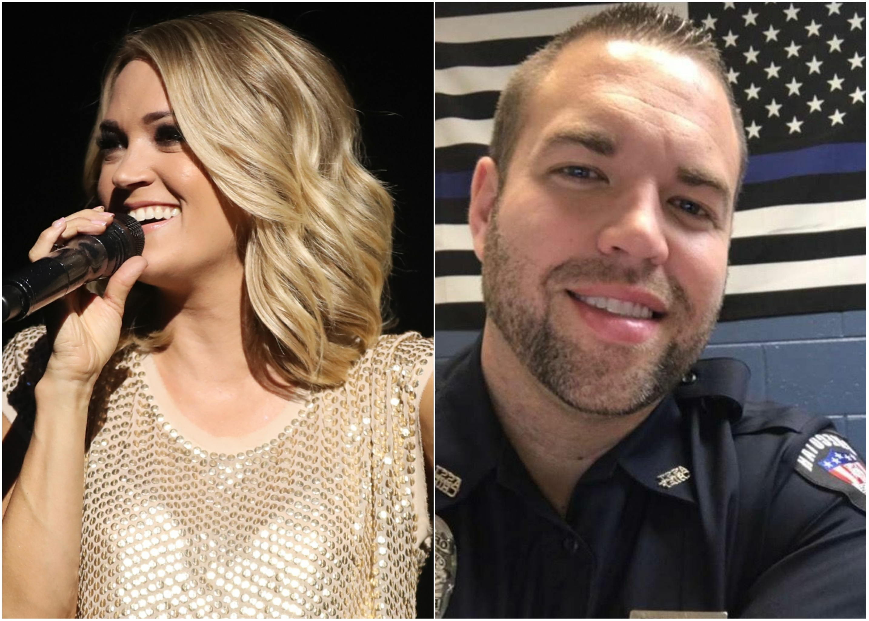 Carrie Underwood Donates $10K To Police Officer Friend