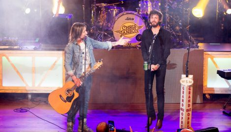 Keith Urban Invites Chris Janson to Join Grand Ole Opry During Show