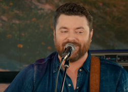 Chris Young is 'Hangin' On' to Every Word in New Single