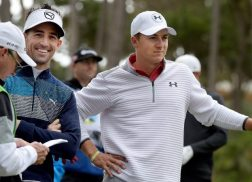 Jake Owen Teams Up with Jordan Spieth at AT&T Pebble Beach Pro-Am Golf Tournament