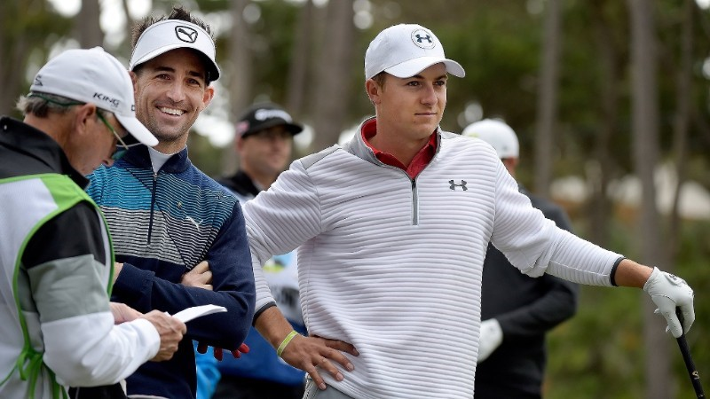 Jake Owen Teams Up with Jordan Spieth at AT&T Pebble Beach Pro-Am Golf Tournament