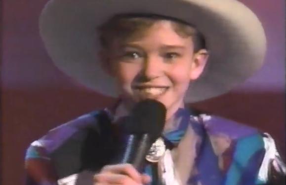 Throwback To When Justin Timberlake Sang Alan Jackson on 'Star Search'