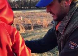 Luke Bryan Bonds with Son Over Shooting Lesson