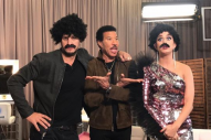 'American Idol' Judges Luke Bryan & Katy Perry Dress Up as Lionel Richie