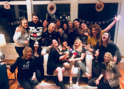 Maren Morris Celebrates 'GettinMurd' at Bachelorette Party