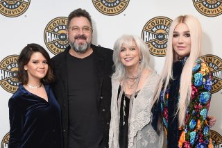 Vince Gill and Maren Morris Sing Backup for Kesha