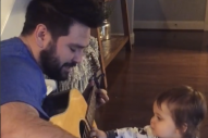 Shay Mooney's Son Asher Gets a Guitar Lesson