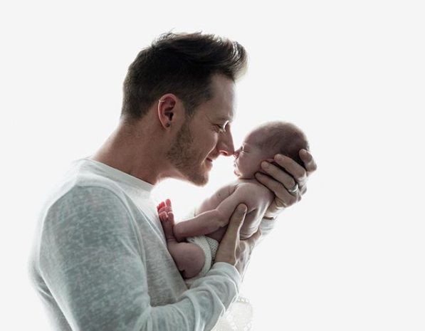 Tyler Hubbard Admits to Tearing Up After Watching Video of his Baby Girl
