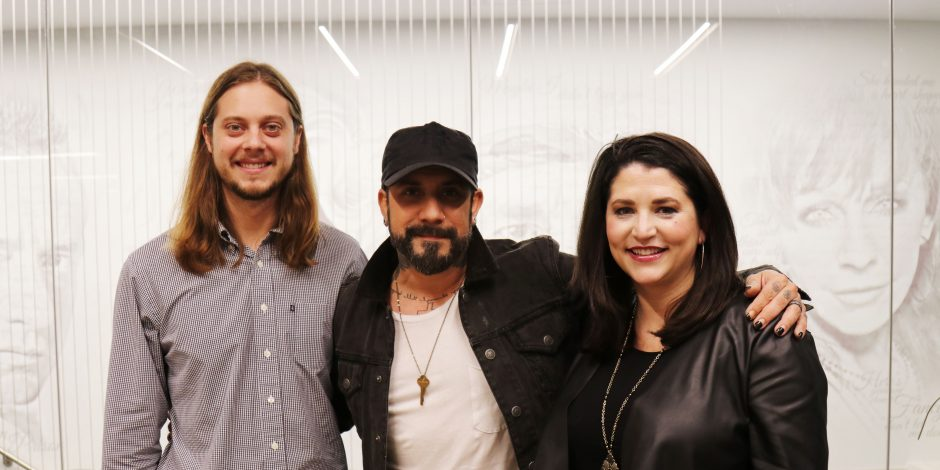 AJ McLean of the Backstreet Boys is Working on Country Project