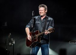 Blake Shelton and Crew Light Up Philadelphia During St. Patrick's Day Concert