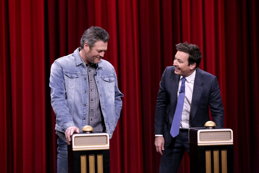 Blake Shelton No Match For Jimmy Fallon On 'Name That Tune'