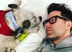 Bobby Bones' Beloved Dog, Dusty, Passes Away