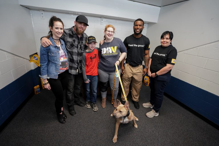 Brantley Gilbert Pairs Veterans With Dogs During Spring Tour