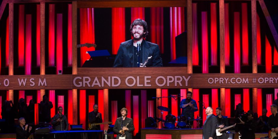 Emotions Run High At Chris Janson's Grand Ole Opry Induction