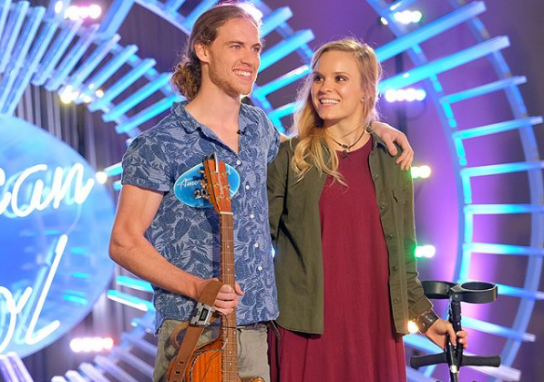 Formerly Paralyzed Music Student Auditions for 'American Idol'