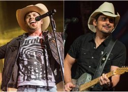 Dustin Lynch Admires Brad Paisley's On-Stage Spirit