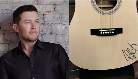 WIN a Guitar Autographed by Scotty McCreery