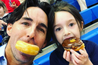 Jake Owen Hangs Out with Pearl on Daddy-Daughter Donut Day