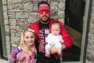Jason Aldean Rocks 80s Costume for Father-Daughter Dance