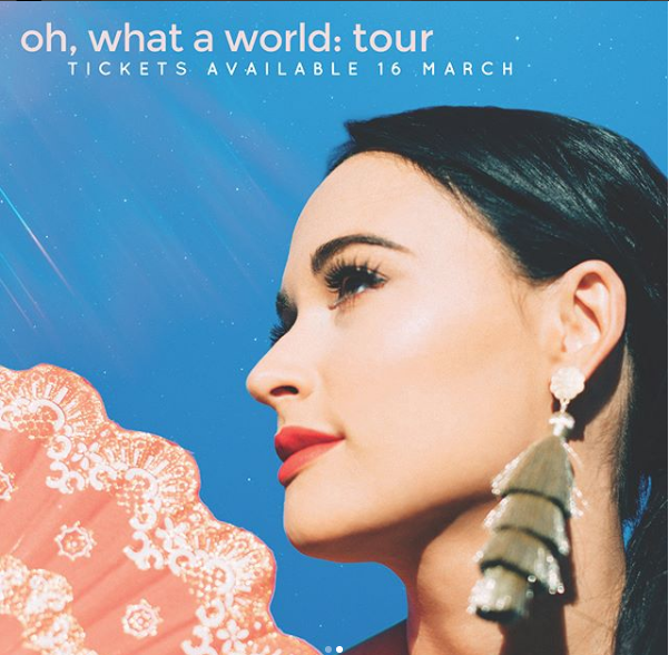 Kacey Musgraves Plots 2018 European Tour