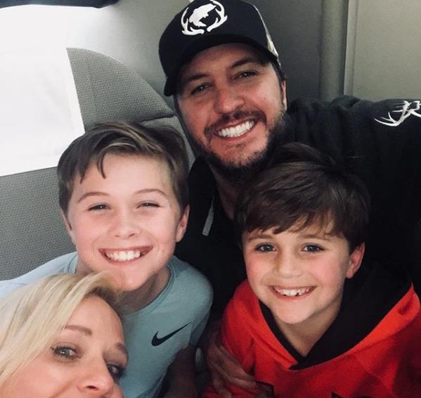 Luke Bryan Bonds With His Family on Australian Adventures