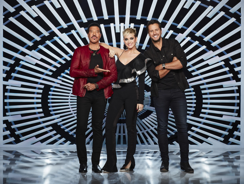 Luke Bryan Lionel Richie Katy Perry American Idol
