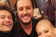 Luke Bryan Sneaks Beer Onto 'American Idol' Set for Long Days
