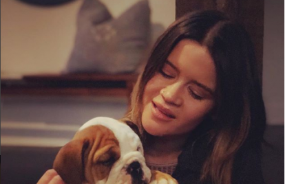Maren Morris Adds New Puppy to Her Family