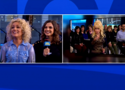 Dolly Parton Surprises Cam During 'Good Morning America'