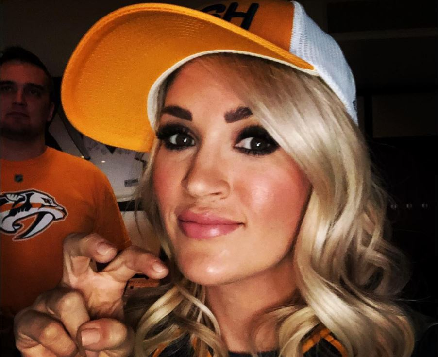 Carrie Underwood Calls Nashville Predators Support 'Absolutely Electric'