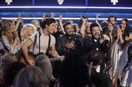 Cam Explains Why She Was In the Pit With Dan + Shay During ACMs Performance