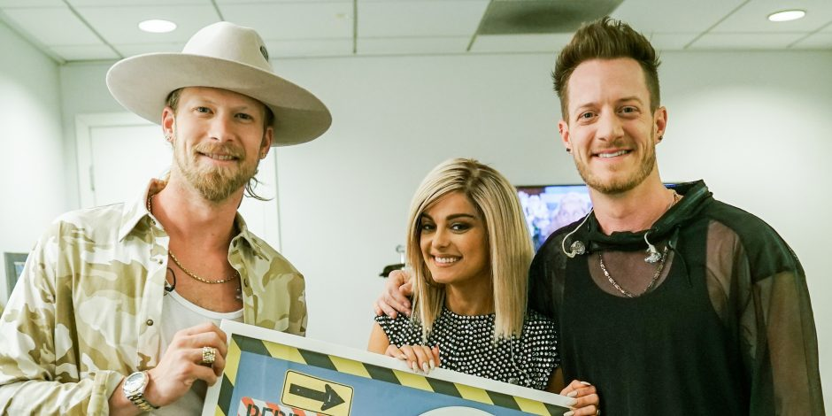 Bebe Rexha Confused Florida Georgia Line with Little Big Town