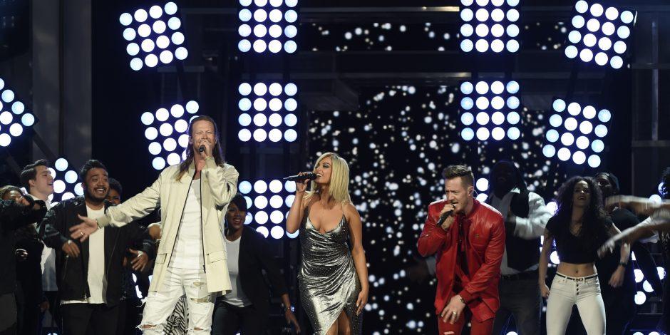 Florida Georgia Line and Bebe Rexha Shine on Stage at ACM Awards