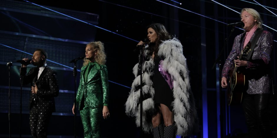 Little Big Town Goes to New Heights with 'Rocket Man' at 53rd Annual ACM Awards