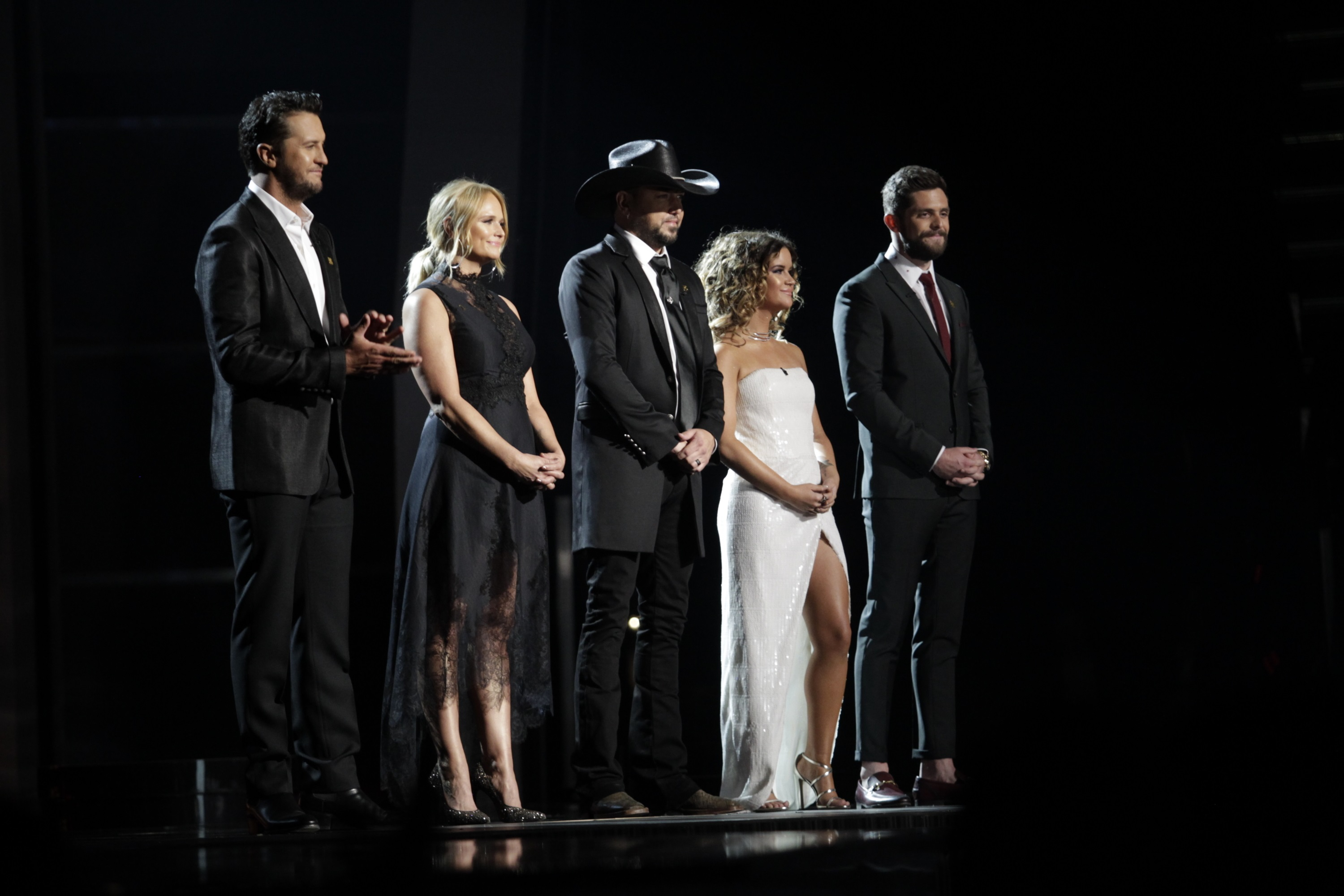 Jason Aldean, Luke Bryan, & More Open 53rd ACM Awards with Route 91 Tribute